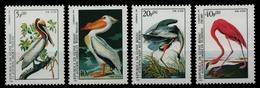 Guinea-Bissau 1985 - Mi-Nr. 842-845 ** - MNH - Vögel / Birds - Audubon - Guinea-Bissau