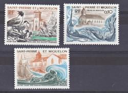 Saint Pierre Et Miquelon  438 440 églises  Neuf ** MNH Sin Charmela Cote 15 - Chiese E Cattedrali