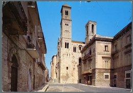°°° Cartolina N. 66 Giovinazzo La Cattedrale Scarabocchiata °°° - Bari