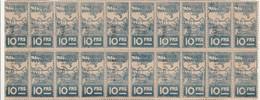 Très Rare 20 Timbres Nantais De 10 Francs Guerre 39-45 - Wars