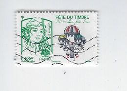 Fête Du Timbre Le Timbre Fête L'air N°4809 Oblitéré 2013 - Gebruikt