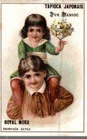 CHROMO TAPIOCA JAPONAIS PUR MANIOC  ROYAL MOKA CHICOREE EXTRA B.BOURGEOIS & LABBE CAMBRAI & PROVILLE - Trade Cards
