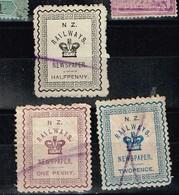 Lot Nouvelle-Zélande  Timbres  à Identifier - Verzamelingen (zonder Album)