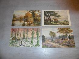 Beau Lot De 60 Cartes Postales De Fantaisie Paysages Paysage Mooi Lot Van 60 Postkaarten Fantasie Landschappen Landschap - Postcards