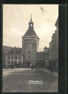 AK Vocklabruck, Partie Auf Dem Unteren Stadtplatz Mit Unt. Stadtturm - Austria
