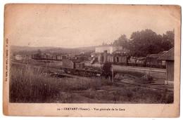 5228 - Cravant ( 89 ) -Vue Générale De La Gare - N°54 - édit. Satis à Clamecy - - Frankrijk