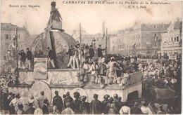 FR06 NICE - Le Carnaval - 1908 - Défilé De Chars Géants - Animée - Belle - Carnaval