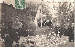 FR13 AIX EN PROVENCE - Carte Photo Carnaval - La Vogue De Chanteller - Animée - Belle - Carnaval
