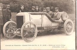 Circuit De Picardie - Grand Prix De L' A.C.F. 1913 - Rablot Sur Voiture Delage - Autres