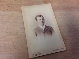 KRONSTADT - BRASSO - RUSSLAND - RUSSIA - LEOPOLD ADLER - HANDSOME YOUNG MAN - 1893 - Plaatsen