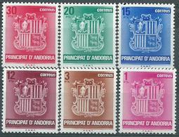 Andorre Espagnol N° 139 à 145** Sauf 141 Neuf - Spanisch Andorra