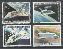 MAURITANIA YVERT AEREO  200/3   MNH  ** - Mauritania (1960-...)