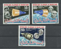 MAURITANIA YVERT AEREO   51/53     MNH  ** - Mauritania (1960-...)
