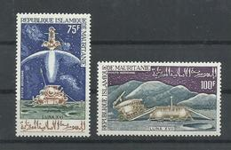 MAURITANIA YVERT AEREO  126/27    MNH  ** - Mauritania (1960-...)
