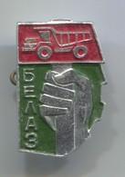BELAZ, Camion Truck - Russian Vintage Pin, Badge, Abzeichen - Transportation