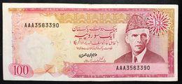 Pakistan 100 Rupees AAA 1986 Vf Bb Forellini LOTTO 636 - Pakistan