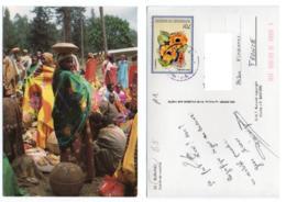 Burundi 001, Iris Export 53, Scne De Marché, Timbre - Burundi