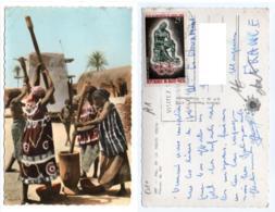 Burkina Faso 010, Haute-Volta, Hoa-Gui 3687, Pileuses De Mil, Timbre, état - Burkina Faso