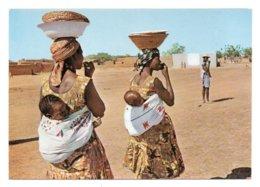 GF Burkina Faso 014, Haute-Volta, St-Joseph 6, Deux Jeunes Mamans - Burkina Faso