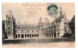 41 102, Château De Blois, Grand Bazar 120, Partie Louis XII Et La Chapelle, Dos Non Divisé - Blois
