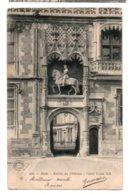 41 112, Château De Blois, Grand Bazar 232, Entrée Du Château, Porte Louis XII, Dos Non Divisé - Blois