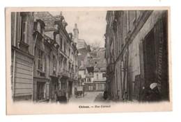 (37) 1589, Chinon, Laussedat, Rue Carnot, Dos Non Divisé - Chinon
