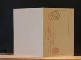 A9717  CP SUISSE AVEC REPONSE  XX  1908 - Interi Postali