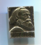 Karl Marx - Communist Leader, Vintage Pin, Badge, Abzeichen - Celebrities