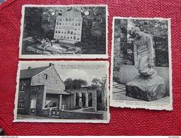 BANDE - NASSOGNE - Lot De 3 Cartes De Bandes : Monument élevé Aux 34 Ardennais Assassinés à La Noêl 1944 - Nassogne