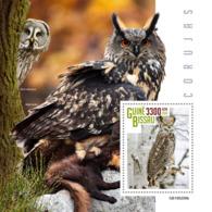 Guinea Bissau   2019  Fauna Owls  S201903 - Guinée-Bissau