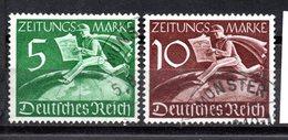 Deutschland, 1939, Satz  Zeitungsmarken, MiNr.Z738+Z739, Gestempelt (16580E) - Germany