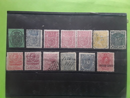 ESPAGNE / ESPANA / SPAIN / SPANIEN ,13 Timbres Fin De Catalogue , Service Telegrafos,Aereo,Impuesto Guerra, Cote 173 E - Sammlungen