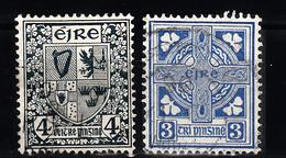 Ierland 1922 Mi Nr 45 + 46 - 1922-37 Stato Libero D'Irlanda