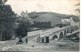 N°73960 -cpa Pont Aven -le Pont Du Chemin De Fer- - Ouvrages D'Art