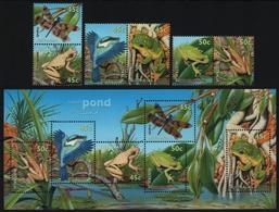 Australien 1999 - Mi-Nr. 1855-1860 IA & Block 34 ** - MNH - Wildtiere (II) - Ungebraucht