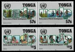 Tonga 1990 - Mi-Nr. 1144-1147 ** - MNH - Vereinte Nationen (II) - Tonga (1970-...)