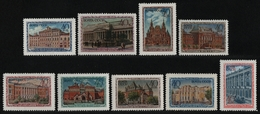 Russia / Sowjetunion 1950 - Mi-Nr. 1450-1458 ** - MNH - Moskauer Museen (V) - 1923-1991 UdSSR