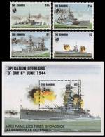 Gambia 1994 - Mi-Nr. 1926-1929 & Block 232 ** - MNH - Schiffe / Ships - Gambia (1965-...)