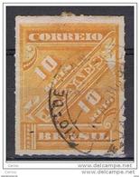 BRASILE:  1889  PER  GIORNALI  -  10 R. OCRA  US. -  YV/TELL.1 - Dienstzegels