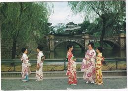 Nijubashi (Double-Bridge) - Symbolic Entrance To The Emperor's Castle - Tokyo -  (Nippon/Japan) - Tokyo