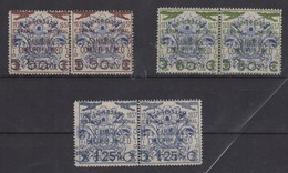 1937 CANARIAS Edifil 31/33** MNH Beneficiencia Local Habilitada PAREJA VC 23,50€ - 1931-50 Cartas