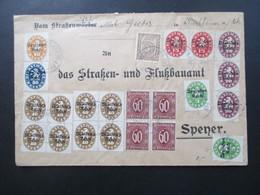 DR Dienst 1922 Bayern Abschiedsausgabe MiF Mit Weiteren Ausgaben Insgesamt 22 Marken! Nr. 39 2x Als 4er Block! - Servizio