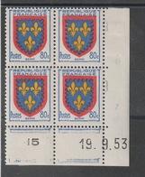 Coin Daté - Neufs ** - Lire Descriptif - 1950-1959