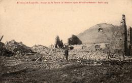 Guerre De 14-18 - Environs De LUNEVILLE- Ferme Léomont Après Le Bombardement - Août 1914 - Cpa Non écrite - War 1914-18