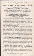 Sint-Jan-ter-biezen, 1953, Cyrille Swertvaegher, Buseyne - Devotion Images