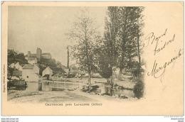 WW Carte Pionnière 03 CHAVROCHE Près Lapalisse Vers 1905 - Lapalisse