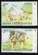 2007 Bosnien Herzegowina  Mi. 476-7 **MNH     EUROPA CEPT - Pfadfinder / Skauting - - Europa-CEPT