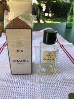FLACON D'EAU DE TOILETTE 100ml Et SA BOITE D'ORIGINE / N°5 De CHANEL - Bottles (empty)