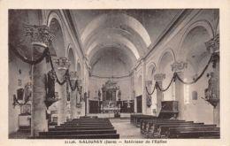 Saligney (39) - Intérieur De L'Eglise - Autres Communes