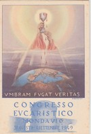 MONDAVIO PESARO URBINO CONGRESSO EUCARISTICO 31 AGOSTO 4 SETTEMBRE 1949 F/G NON VIAGGIATA - Otras Ciudades